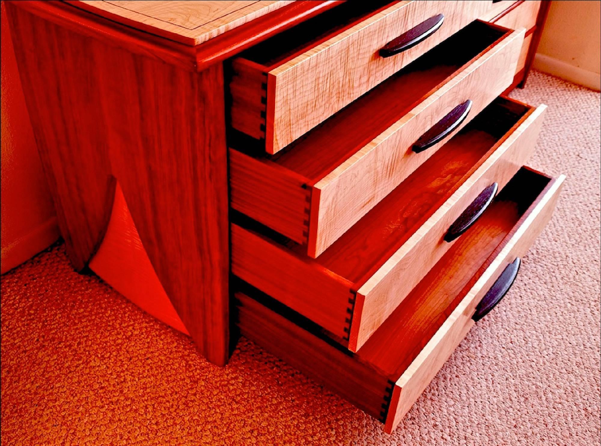 Custom Handmade High End Eight Drawer Dresser