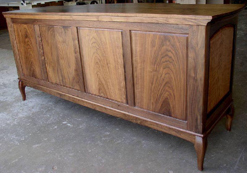 Custom Handmade Classically Styled Buffet Sideboard