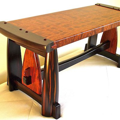 Custom Handmade High End Wood Furniture By Louis Fry